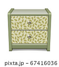 Bedside table with a pattern 67416036