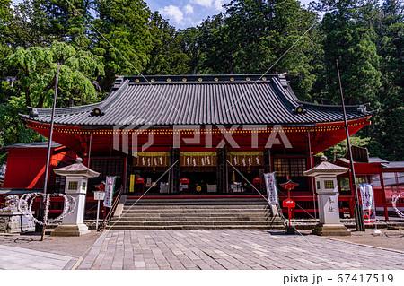 (栃木県)日光東照宮 拝殿 67417519
