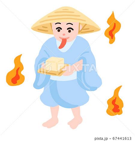 日本の妖怪 豆腐小僧 67441613