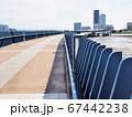 福岡市東区のあいたか橋とアイランドシティのビルの風景 67442238