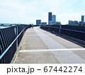 福岡市東区のあいたか橋とアイランドシティのビルの風景 67442274