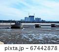 あいたか橋のある福岡市東区香椎の景色 67442878