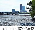 あいたか橋のある福岡市東区香椎の景色 67443042