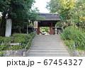 神社の境内 67454327