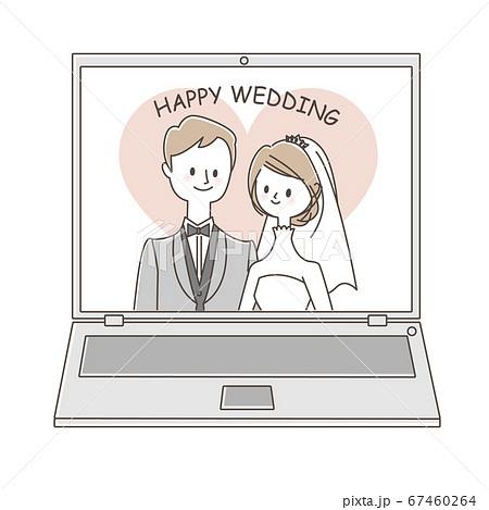 オンライン結婚式 67460264