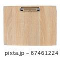 木目調のクリップボード、用箋ばさみ 67461224