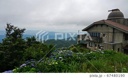 大川原高原から見る風景(徳島県) 67480190