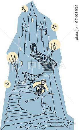 お城から逃げるシンデレラ 67493936
