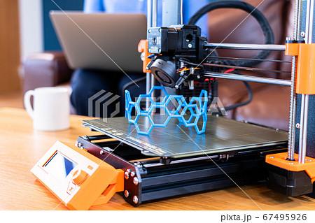 3Dプリンタ リモートワーク 67495926