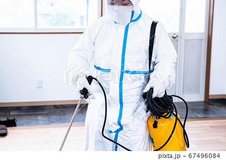 感染対策 防護服 67496084