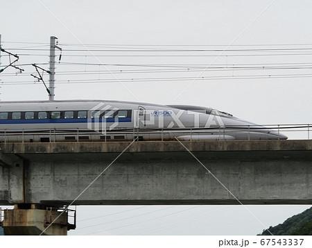 千種川橋梁を渡る山陽新幹線500系こだま 67543337