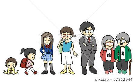 家族・家族の成長 67552944