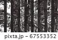 和紙みたいなアブストラクト 黒 67553352