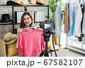 Live streaming for selling fashion online 67582107