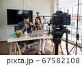2 Asian blogger couple live online 67582108