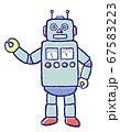 ブリキ風ロボット 67583223
