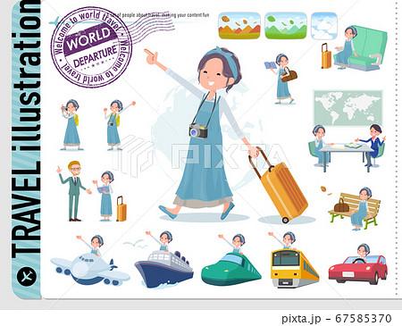 flat type hairband apron mom_travel 67585370