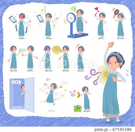 flat type hairband apron mom_complex 67585386