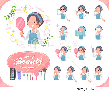 flat type hairband apron mom_beauty 67585392