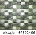 四角いパターンの壁紙 67592466
