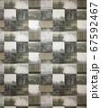 四角いパターンの壁紙 67592467