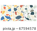 Abstract background with Japanese wave pattern 67594578
