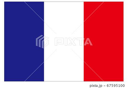 新世界の国旗2:3Verフランス 67595100