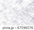 アブストラクト ポリゴンB ホワイト 01 67596576