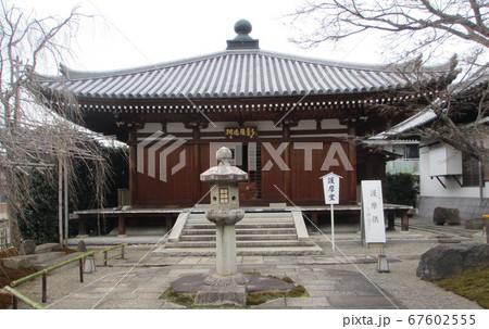 四国八十八箇所83番一宮寺、護摩堂ヨコ 67602555