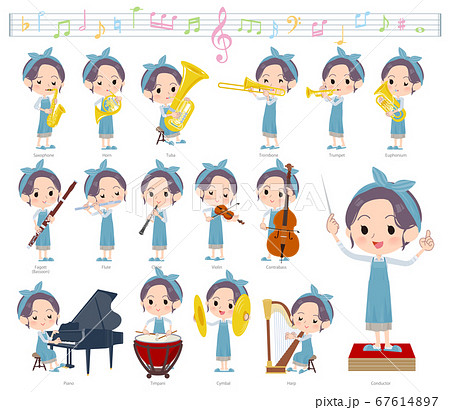 hairband apron mom_classic music 67614897