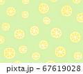 レモン柄の壁紙 67619028