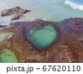 角度の良い 奄美大島 ハートロック 67620110