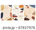 Japanese background vector. Flower icon with 67637976