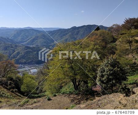広島県安芸高田市向原町神の倉山からの風景 67640709