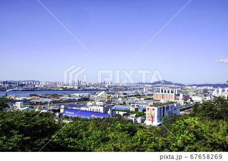 韓国 仁川市 中区 67658269