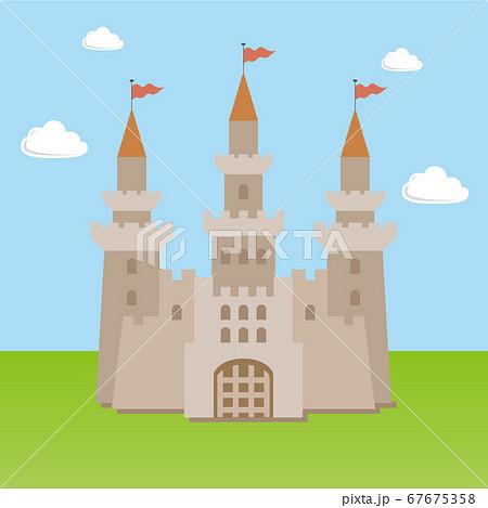 お城のイラスト 67675358