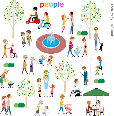 公園の人たち 67679654