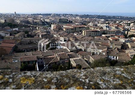 カルカッソンヌ城から見た街の景色 67706566