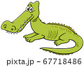 crocodile wild animal character cartoon 67718486