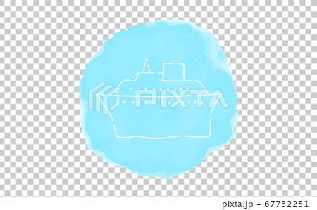 模擬手寫風格的鬆動觸摸圖標:巡洋艦 67732251