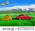 富士山のふもとでオートキャンプ 67735573