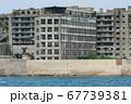 世界文化遺産 海上からの軍艦島(長崎県端島) 67739381
