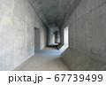 建設中の高速道路 避難通路(東京都目黒区) 67739499
