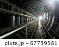建設中の地下駅(東京都調布市) 67739581