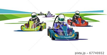 ゴーカート-レーシングカート 67740932