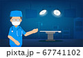Surgeon in surgery room 67741102