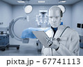 Doctor cyborg or robot 67741113
