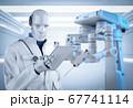 Doctor cyborg or robot 67741114