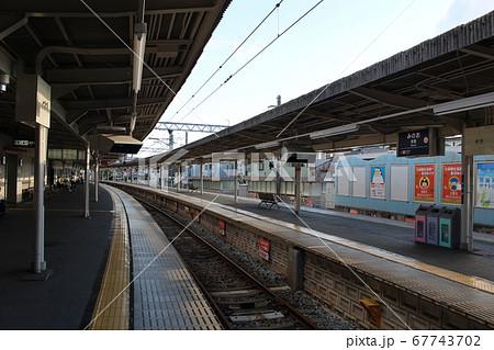 【阪急電鉄】箕面駅ホーム(阪急箕面線) 67743702