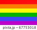 LGBT rainbow flag background. Lesbian, gay, 67753018